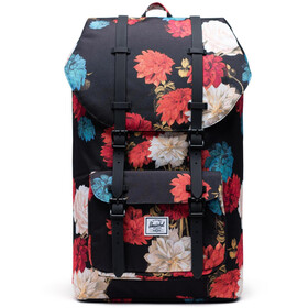 Herschel Little America Backpack vintage floral black